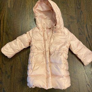 Gap Kids Pink Puffer Jacket 3T